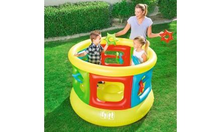 Parc trampoline gonflable BESTWAY